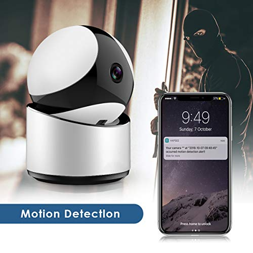 Security Camera, Wireless Security Surveillance IP Camera Home Monitor with Motion Detection Two-Way Audio Night Vision
