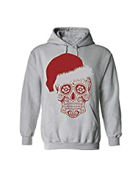 HHmei Women Christmas Funny Santa Claus Head Cowl Neck Fitting Tunic Top Blouse