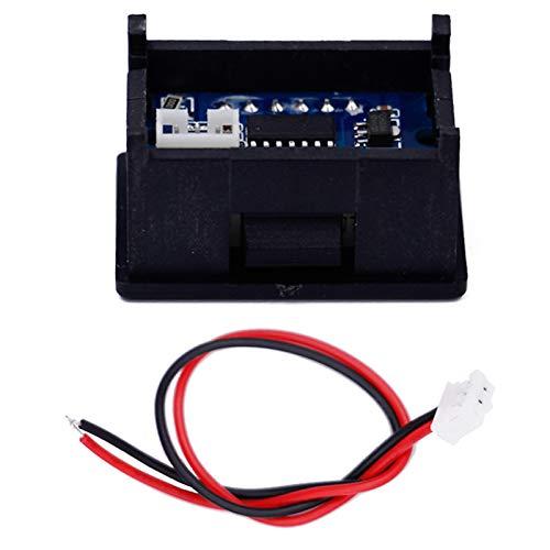 LaDicha Affichage À LED Tension 0.36 Pouce 2/3 Fils Voltmètre Numérique DC 2.4V-30V Panneau Volt Mètre pour Testeur De Batterie Rc Drone Voiture Moto - 3 #