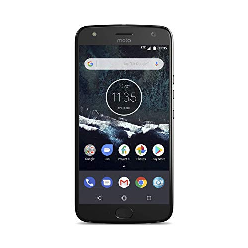 Motorola Moto X4 Android One Edition Factory Unlocked Phone - 5.2inch Screen - 32GB - Black (U.S. Warranty) (Renewed)