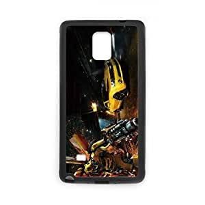 Generic hard plastic Little buddy Bumble Bee Cell Phone Case for Samsung Galaxy Note 4 Black ABC83