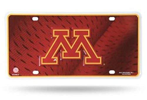 (NCAA Minnesota Golden Gophers Metal License Plate Tag )