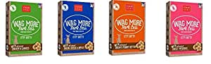 Buddy Biscuits Original Itty Bitty All Natural Treats For Dogs 4 Flavor Variety Bundle: (1) Peanut Butter, (1) Bacon Cheese, (1) Roasted Chicken (1) Swee POTATO 8 Oz. Ea. (4 Boxes Total)