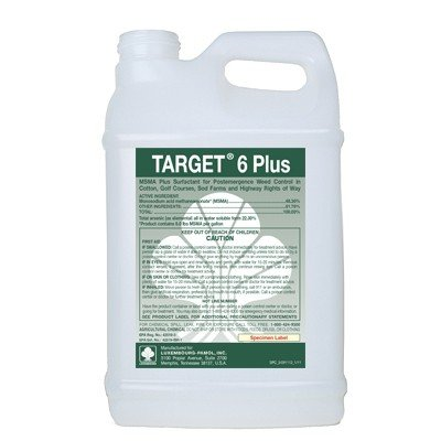Target 6 Plus (MSMA 48.2%) Turf Herbicide - 5 gallons:1 case (2 x 2.5 gallon jugs) by Target 6 Plus (MSMA)