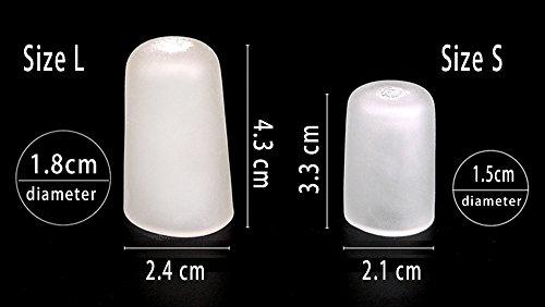 Amazon.com: USFOOT® 100% Silicone Toe Cap protector, Finger Cap protector, Toe protector tube, for toe pain, bunion toes, hammertoes, ingrown toenails, ...