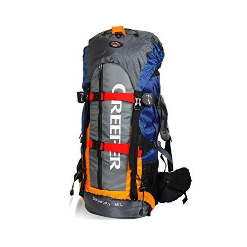 YAAGLE Outdoor Rucksack Trekkingrucksack Camping Rucksack Nylon Bergsteigen Tasche Marken Reise-Tasche-blau