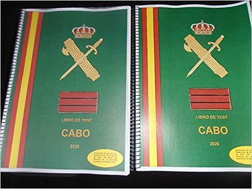 Test ascenso a Cabo Guardia Civil: Amazon.es: Vicente Manuel García Salguero: Libros