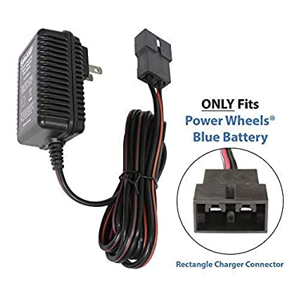 Amazon.com  SafeAMP 6-Volt Charger for Fisher-Price Power Wheels Toddler  Blue Battery  Toys   Games 94b490164