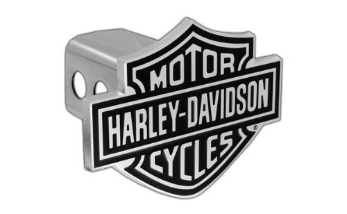 Harley-Davidson Trailer Hitch Cover Plug With 3D Bar & Shield 4332984351