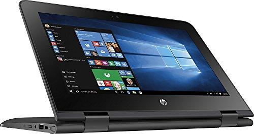 HP X360 11-AB011DX 11.6-Inch Touchscreen 2-in-1 Convertible Premium HD Laptop (Intel celeron N3060, 4GB RAM, 32GB eMMC, Windows 10 Home) Black by HP (Image #5)