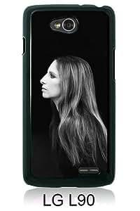 Barbra Streisand Black LG L90 Screen Cover Case Genuine and Newest Design