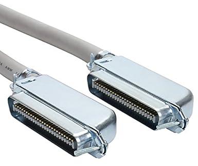 amphenol mp-5t90mmunna-010 cat3 25-pair telco cable, 90 degree, 50-pin rj21,  male, 10', gray: amazon ca: tools & home improvement