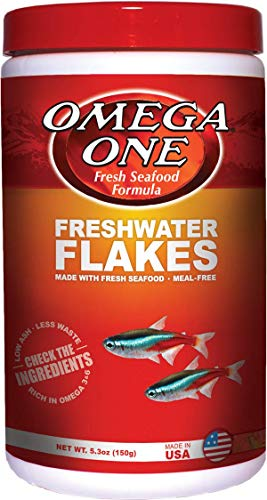OMEGA One Freshwater Flake 5.3oz, Yellow