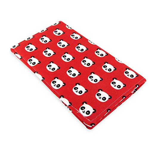 Handmade Panda Checkbook Cover Wallet - Panda Checkbook Cover
