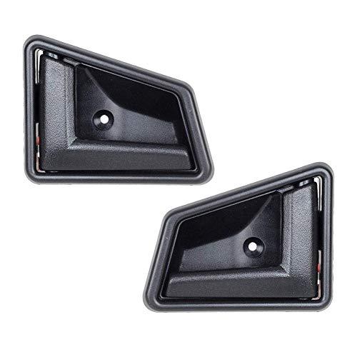 Interior Black Door Handle 2 PCS Front/Rear Left Right Driver Suzuki OEM:8311056B01 8313056B01 Door Handle Passenger Side