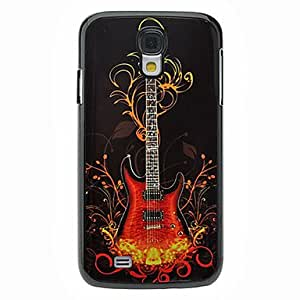 Buy Fashion Guitar Pattern Aluminum Hard Case for Samsung Galaxy S4 I9500