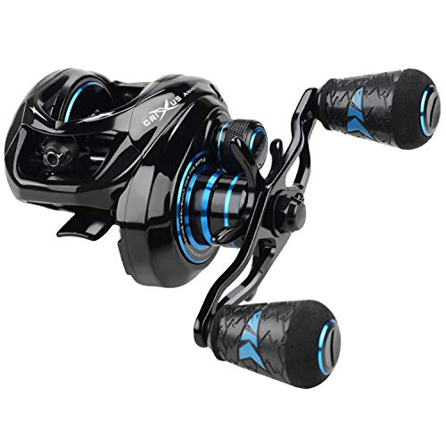 KastKing Crixus ArmorX Baitcasting Reels,Left Handed Fishing Reel