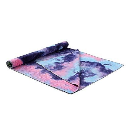 Ponis-Limos - 183x63CM Yoga Mat Towel Non Slip Sweat Uptake ...