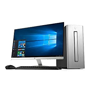 """HP Envy Desktop Bundle with 27"""" LED Monitor, Intel i7-6700 Processor, 16GB Memory, 2TB Hard Drive, Windows 10 Home, HDMI, with Wireless Keyboard and Mouse"""