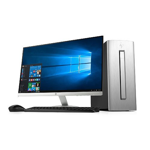 HP Envy Desktop Bundle with 27