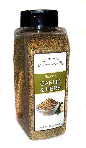 Olde Thompson Garlic (Olde Thompson Roasted Garlic and Herb Seasoning 21)
