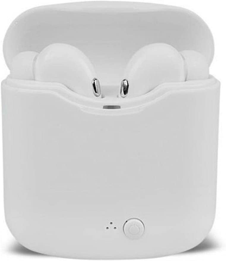 masite Wireless Bluetooth Earphones Stereo Music Mini Phone Headset with Charger Box Bluetooth Headsets