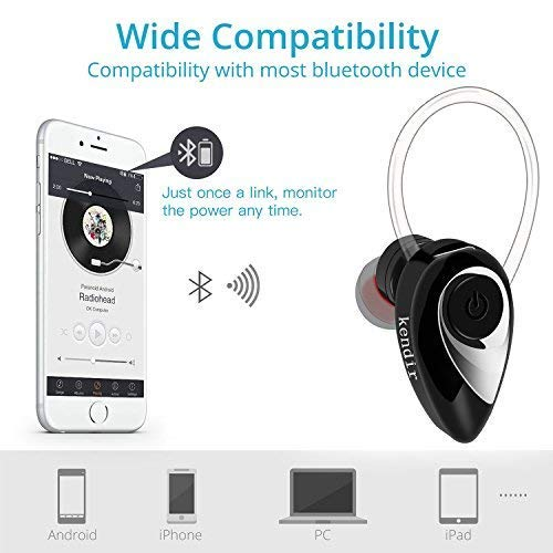 Amazon.com: Kendir V4.2 - Auriculares Bluetooth inalámbricos ...