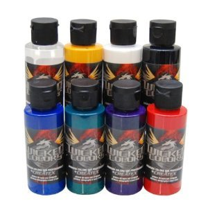 Createx Colors Wicked Color Sampler Set - 2 Ounce Bottles Createx Paint 2 Oz Bottle