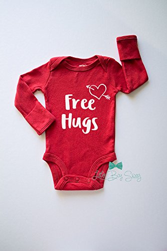 Boys/Girls Valentines Day Outfit. Soft, comfortable and 100% cotton ensure