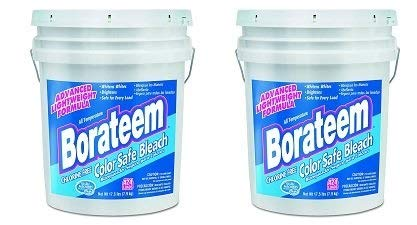 Borateem Color Safe - Borateem 00145 5 Gallon Chlorine-Free Color Safe Laundry Bleach Pail (2-(Pack))