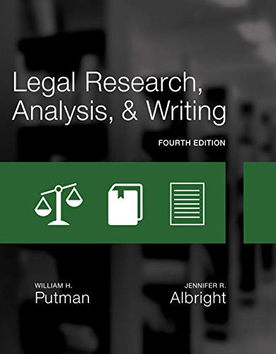 Bundle: Legal Research, Analysis, and Writing, 4th + MindTap Paralegal, 1 term (6 months) Printed Access Card by Cengage Learning
