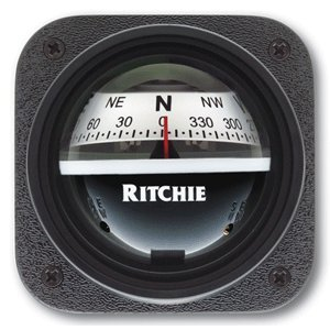 Ritchie Ritchiesport Compass - Ritchie Ritchiesport Compass X-10W-M, Ritchiesport Bracket Mount Compass, White