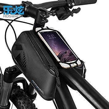 New ROSWHEEL Bicycle Bike Cycling Frame Pannier Front Top Tube Phone Bag
