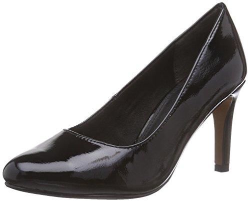 s.Oliver22401 - zapatos de tacón cerrados Mujer Negro - Schwarz (BLACK PATENT 018)
