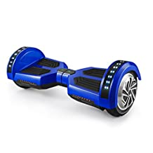 UL2272 Certified Titanium X-ONE self Balancing Hoverboard With Bluetooth Speakers - Mobile APP - Samsung FireSafe Battery - 8 Inch Tires - Warranty