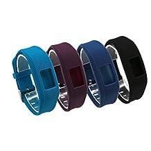 Tkasing One-Size Replacement Garmin Vivofit 3 Band Garmin 3 vivofit Wristband Strap Accessory with Metal Clasp for Garmin Vivofit 3