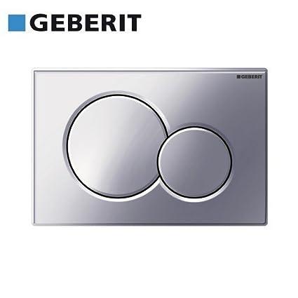 Geberit-Pulsante 115,770.KA.5 Sigma01 colore manico in plastica cromato opaco//brillante