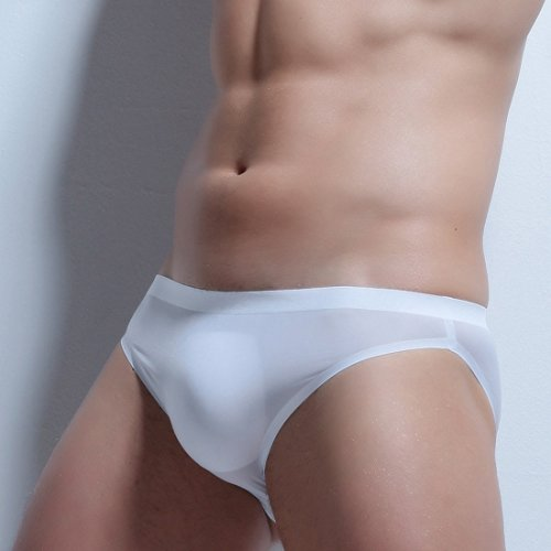 Blanco de interior 2 moichien suave Breve ropa de Men Ai Boxer Transpirable Seda hielo Pack w6YIEOa6xq