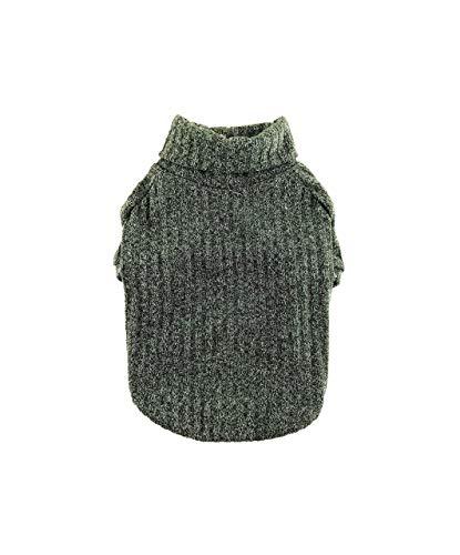 Olive Fine-knit Sweater, Ribbed Sweater, Turtleneck Top, Lightweight Sweater, Dog Clothing, Dog Fashion, Dog Apparel