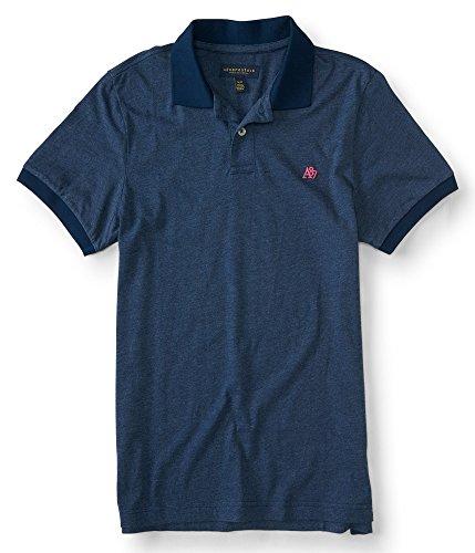 Aeropostale Mens Solid Jersey Shirt