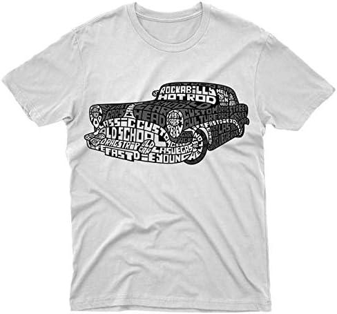 fm10 – Camiseta de Hotrod Auto Bólidos Epoca cambios Potencia Gift Motores Bianco L: Amazon.es: Ropa y accesorios