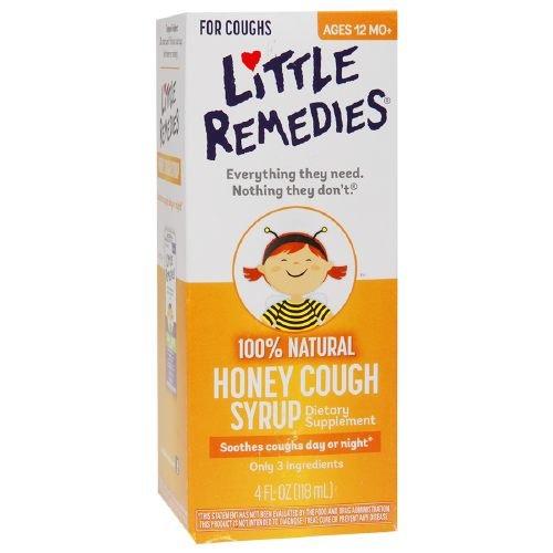 Little Remedies 100% Natural Cough Syrup, Honey 4 fl oz