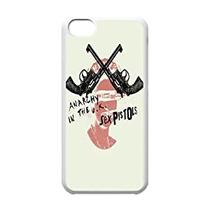 Pop Band Poster Sex pistols Hard Plastic phone Case Cover For Iphone 5c FAN305938