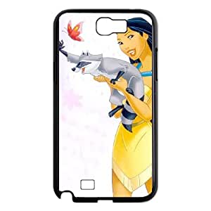 Pocahontas Samsung Galaxy N2 7100 Cell Phone Case Black UD1368783