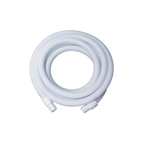 "White Blow-Molded LDPE In-Ground Swimming Pool Hose - 35' x 1.5"" -  Pool Central, 31515023"