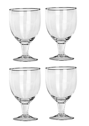 Somil Royal and Transparent Wine Glass  Set of 4