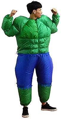 Traje inflable Adulto Divertido Potente Hulk Disfraces de ...