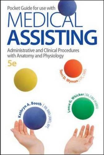 Pocket Guide for Medical Assisting: Administrative and Clinical Procedures