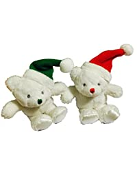 Gund Whimsy Wishes Holiday Bear Rattle - 1 pk BOBEBE Online Baby Store From New York to Miami and Los Angeles