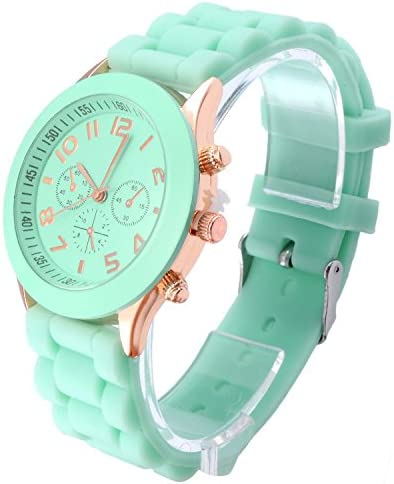 OFTEN Popular Silicone Quartz Men Women Girl Boy Unisex Jelly Wrist Watch Cheap Gift